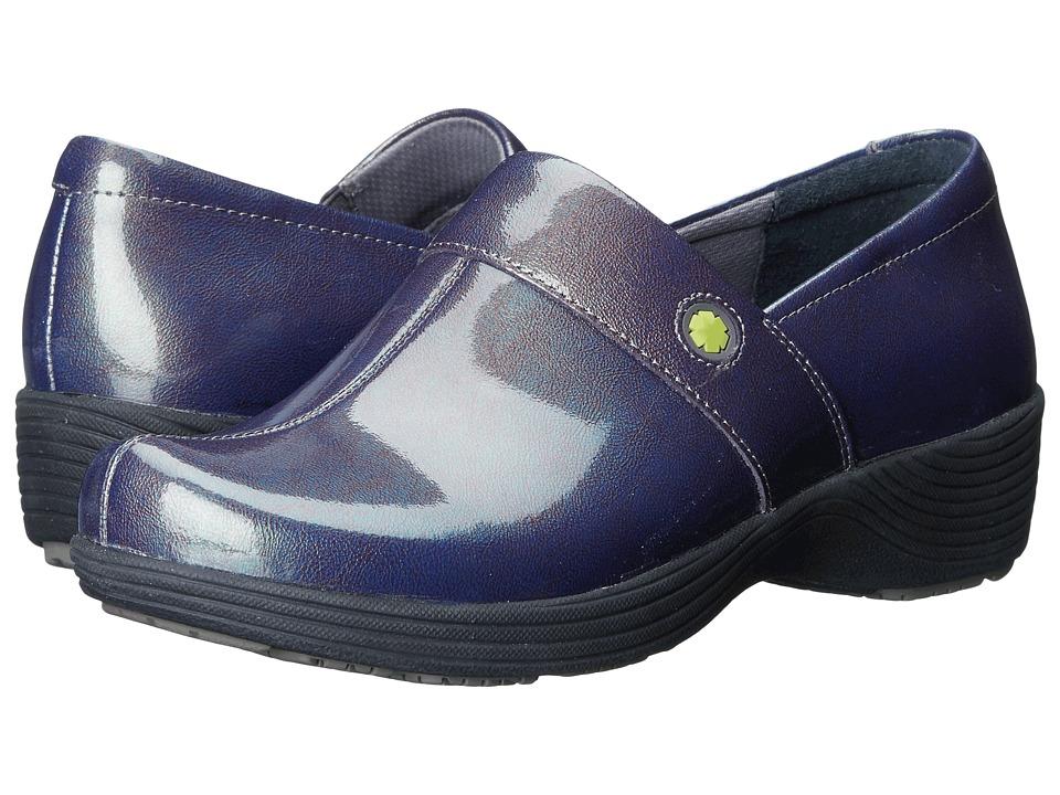 Work Wonders by Dansko - Camellia (Grey Prism Patent) Women's Clog Shoes