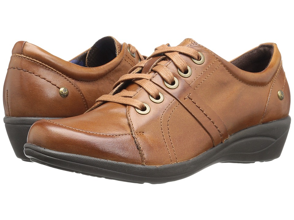 Hush Puppies Champion Oleena (Tan Leather) Women