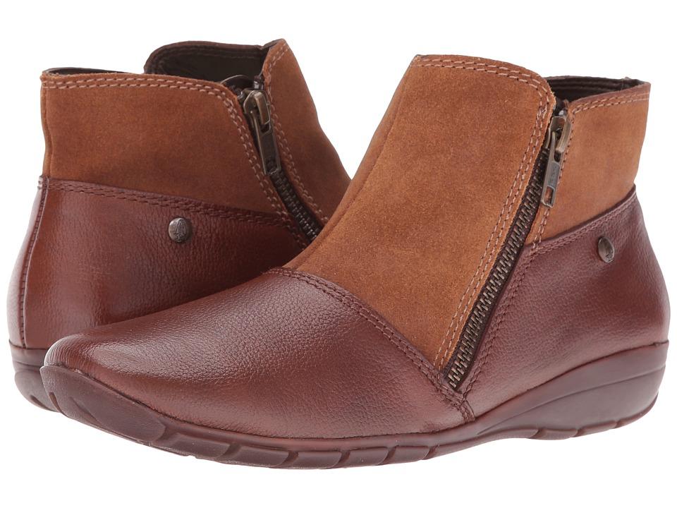Hush Puppies - Khoy Dandy (Tan Suede/Leather) Women's Shoes