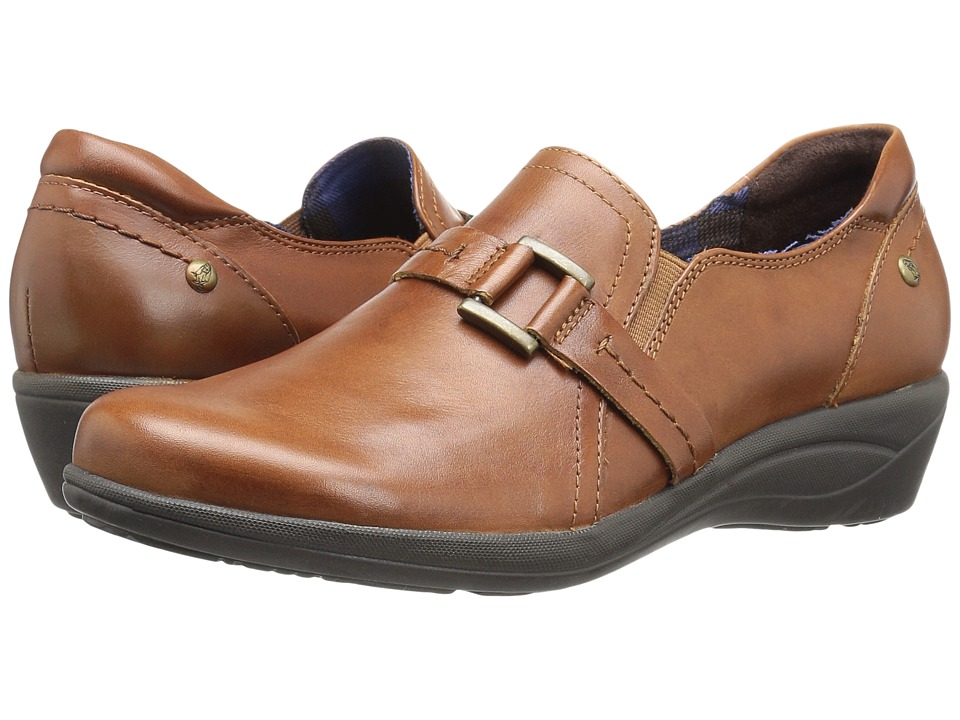 Hush Puppies Charming Oleena (Tan Leather) Women