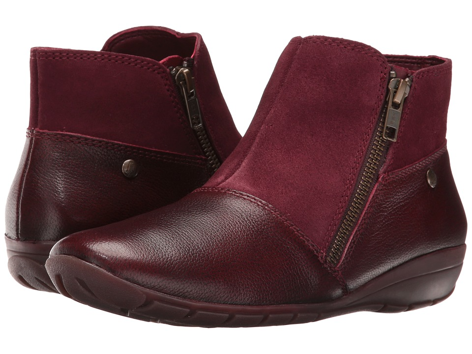 Hush Puppies - Khoy Dandy (Wine Leather) Women's Shoes