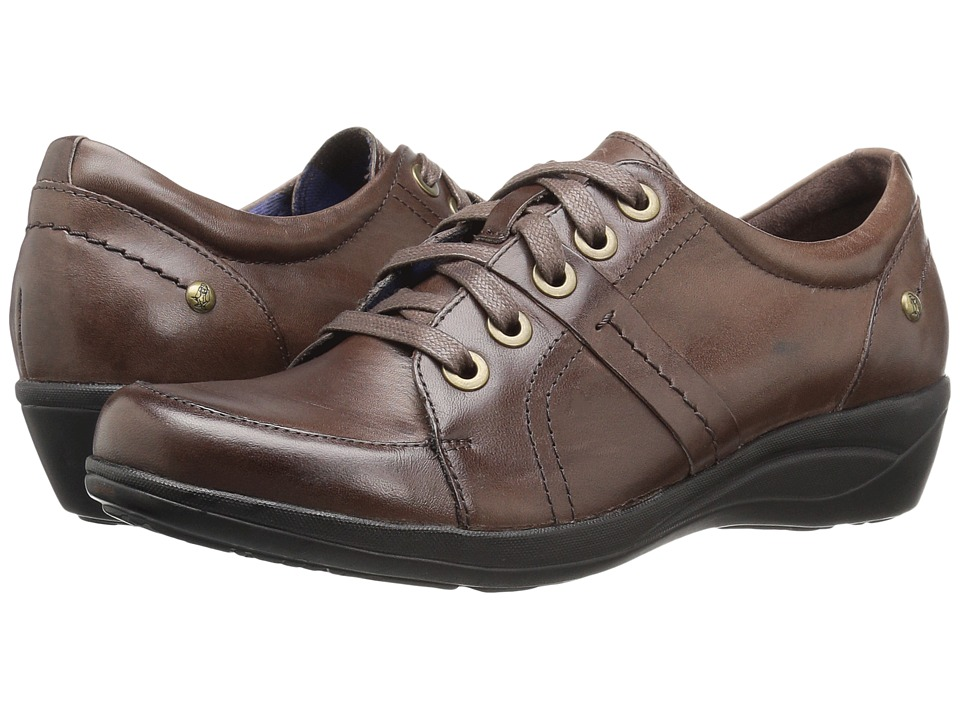 Hush Puppies Champion Oleena (Dark Brown Leather) Women