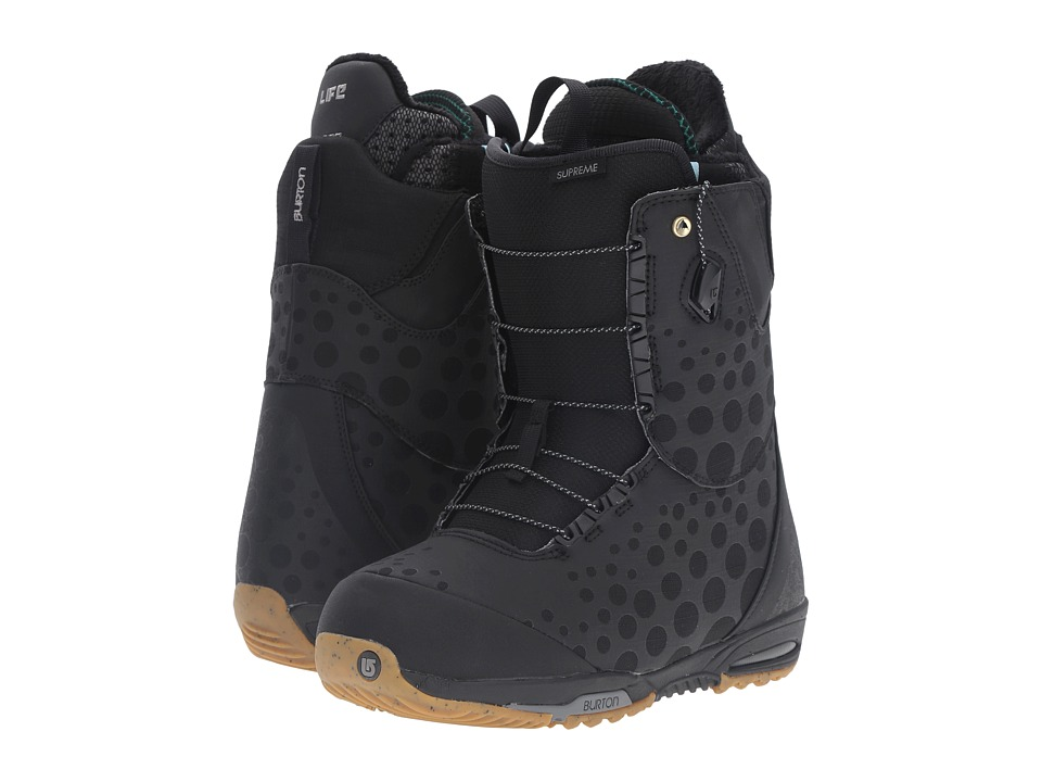 Burton - Supreme '17 (Black) Women's Cold Weather Boots