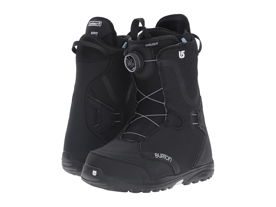 Burton - Limelight Boa '17 (Black) Women's Cold Weather Boots