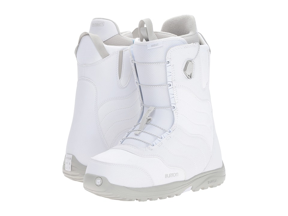 Burton - Mint '17 (White/Gray) Women's Cold Weather Boots