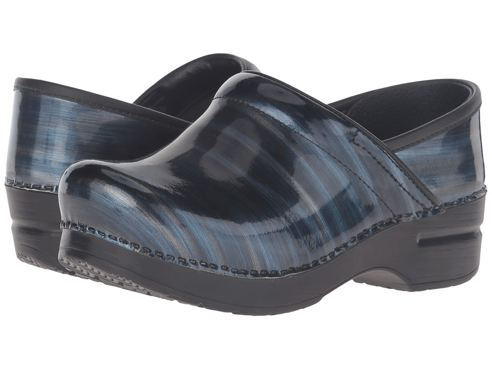 Dansko - Professional (Silver/Blue Stripe) Women's Clog Shoes