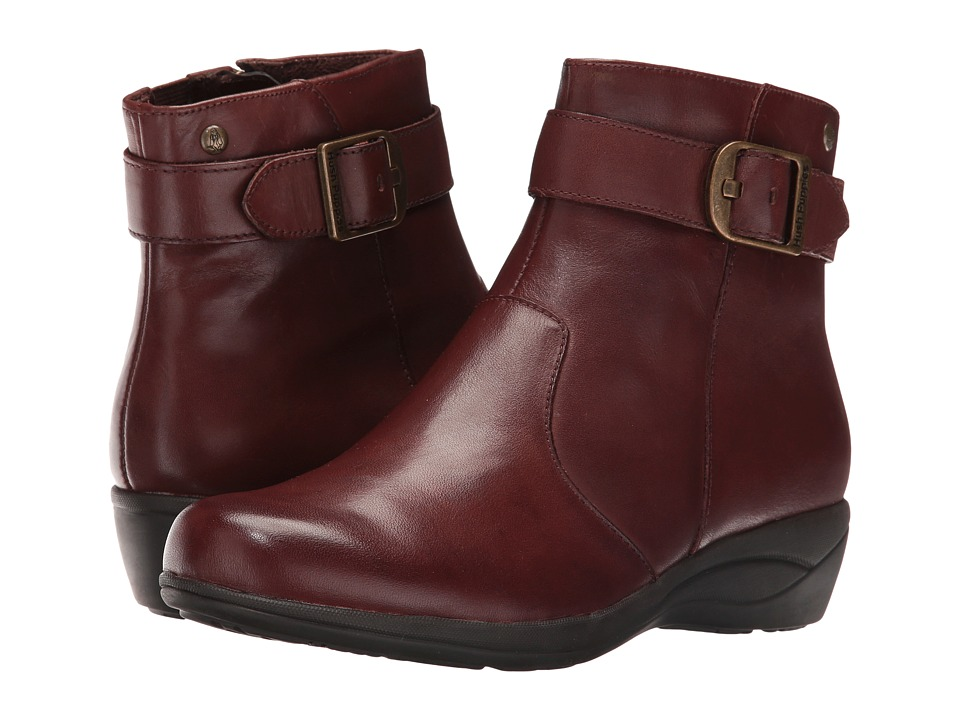 Hush Puppies Ethel Oleena (Dark Brown WP Leather) Women