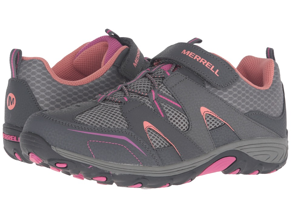 Merrell Kids - Trail Chaser (Big Kid) (Multi Suede/Mesh) Girls Shoes