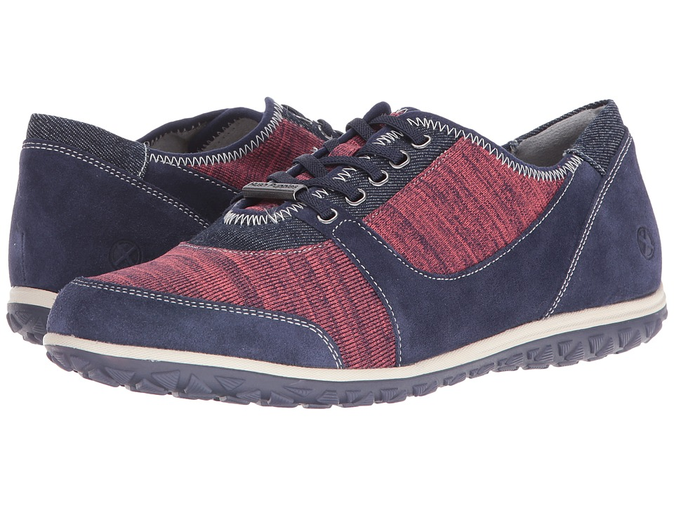 Hush Puppies - Basel Audra (Navy Suede) Women's Shoes