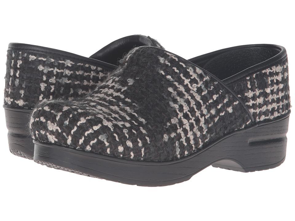 Dansko - Fabric Pro (Black Textured) Women's Clog Shoes