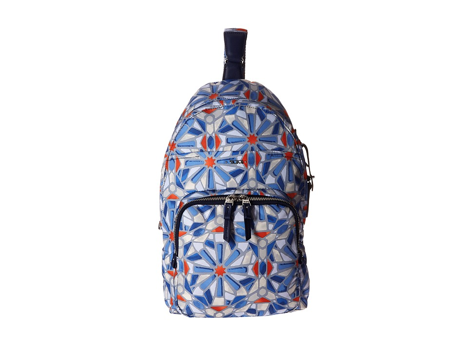Tumi - Voyageur Brive Sling Backpack (Cayenne Tile Print) Backpack Bags