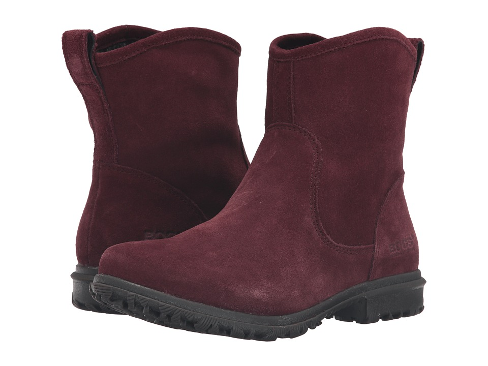 Bogs Betty Low Ox Blood Womens Waterproof Boots