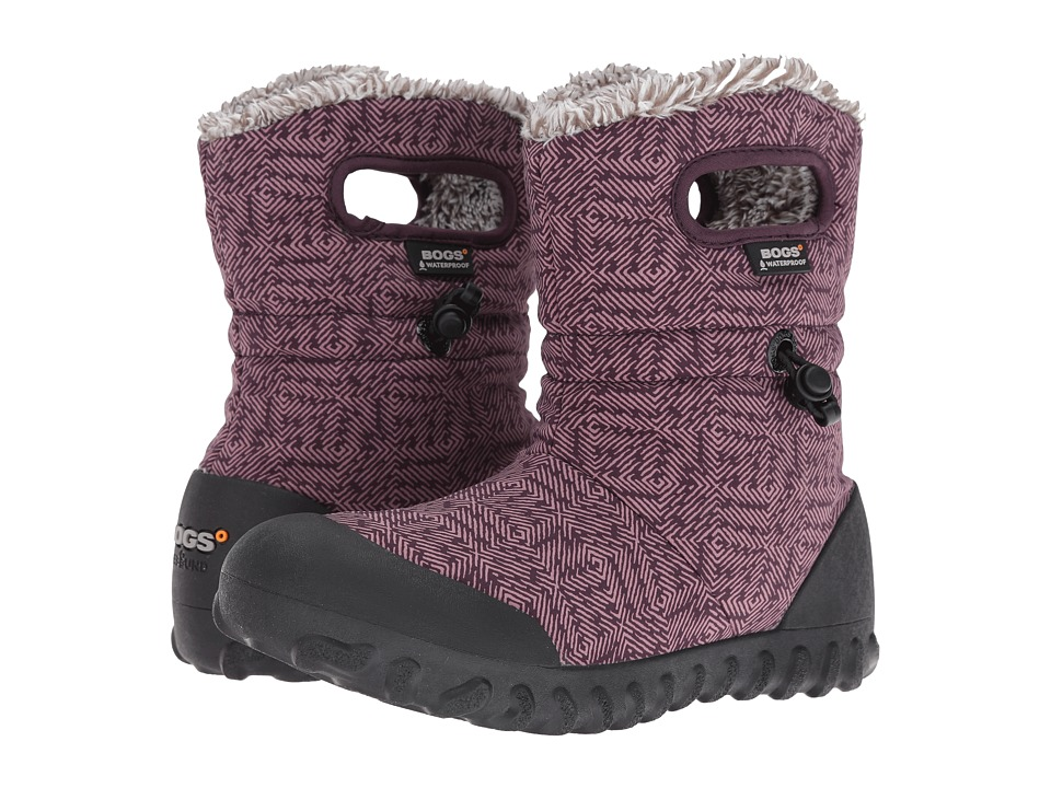Bogs - B-Moc Dash Puff (Plum Multi) Women's Waterproof Boots