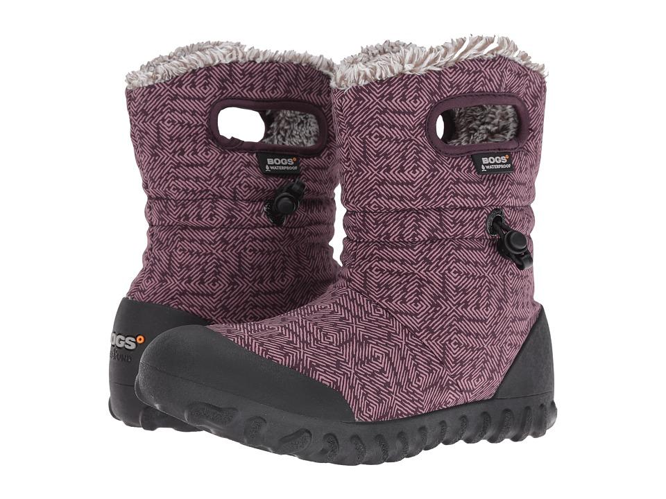 Bogs - B-Moc Dash Puff (Plum Multi) Women's Waterproof Boots