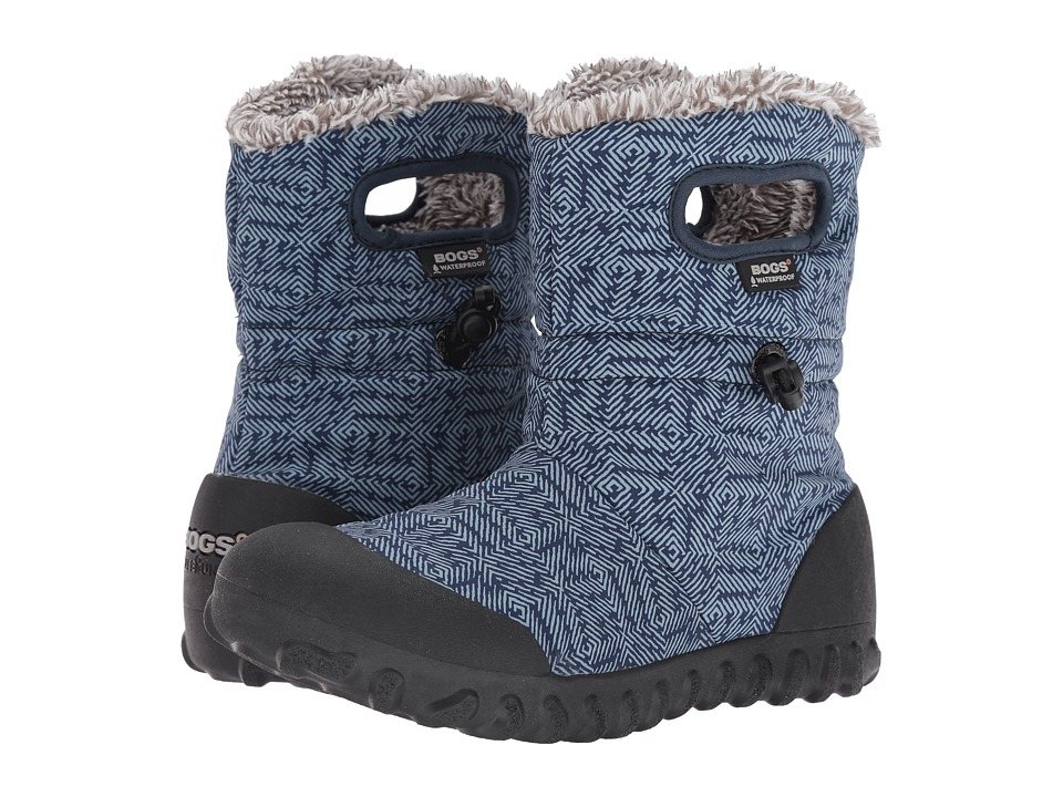 Bogs - B-Moc Dash Puff (Blue Multi) Women's Waterproof Boots
