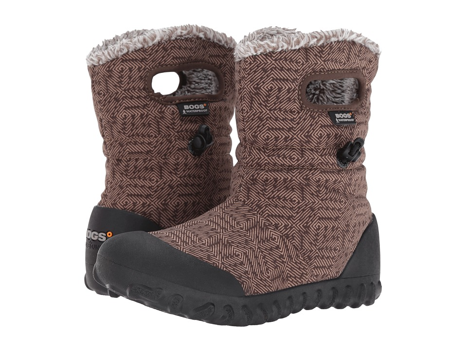 Bogs - B-Moc Dash Puff (Chocolate Multi) Women's Waterproof Boots