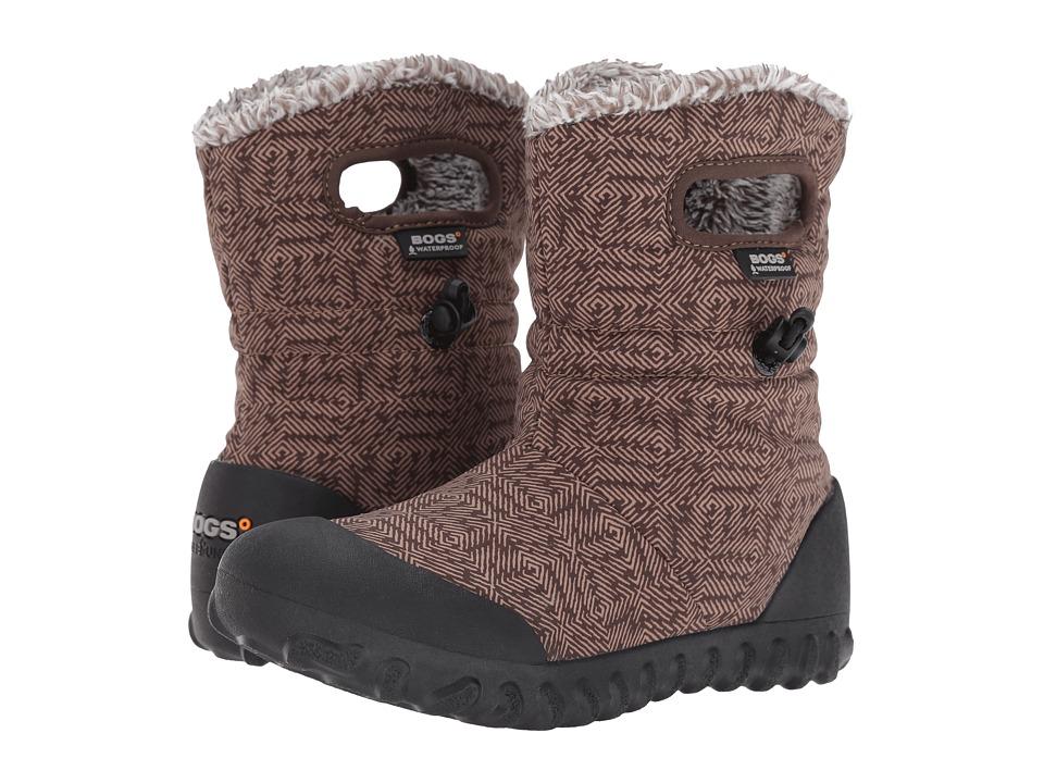 Bogs - B-Moc Dash Puff (Chocolate Multi) Women's Waterproof Boots