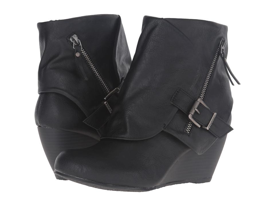 Blowfish - Bilocate (Black Old Ranger PU) Women's Dress Zip Boots