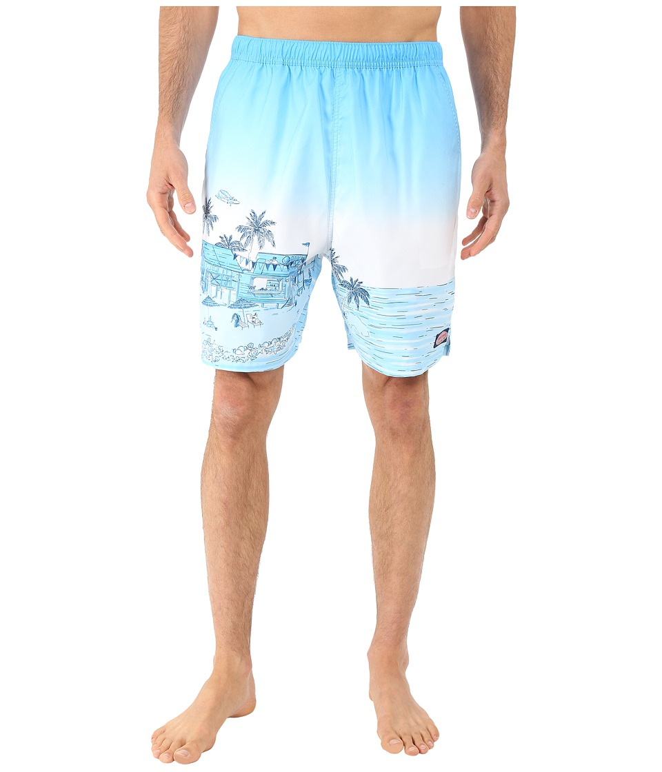 Vineyard Vines - Beach Bar Scene Chappy (Cloud) Men's Swimwear