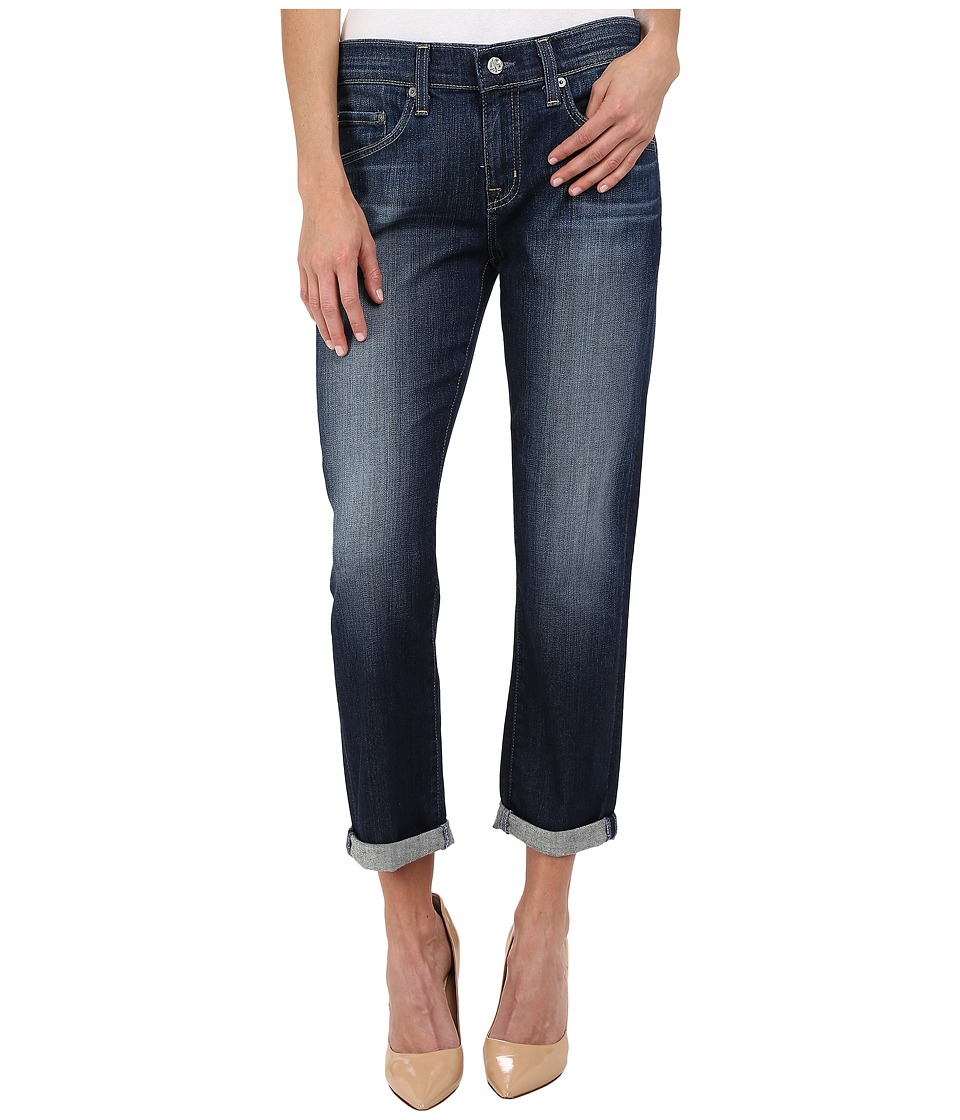 AG Adriano Goldschmied - The Ex-Boyfriend Crop in 10 Years Timeless (10 Years Timeless) Women's Jeans