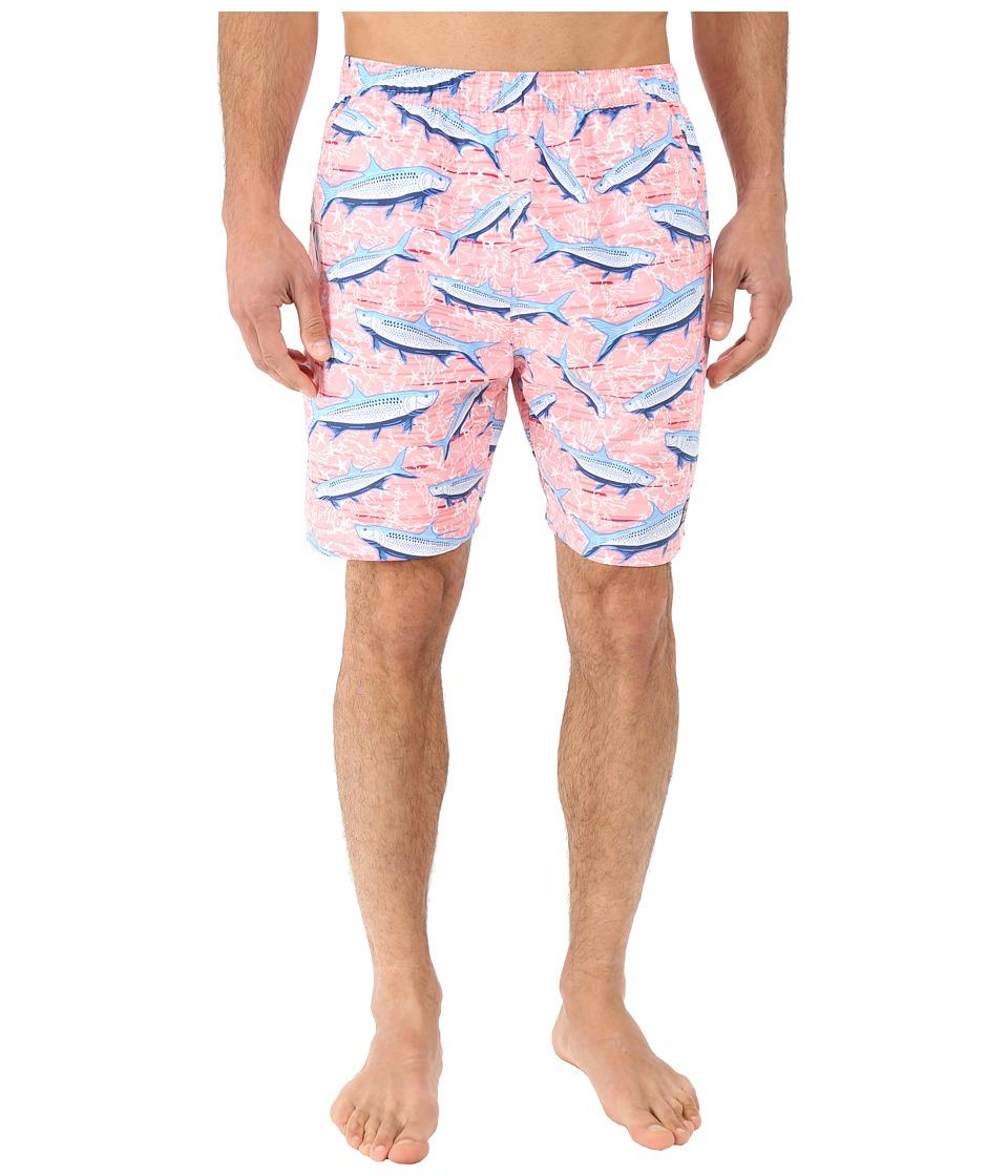 Vineyard Vines - Tropical Tarpon Chappy (Hibiscus) Men's Swimwear