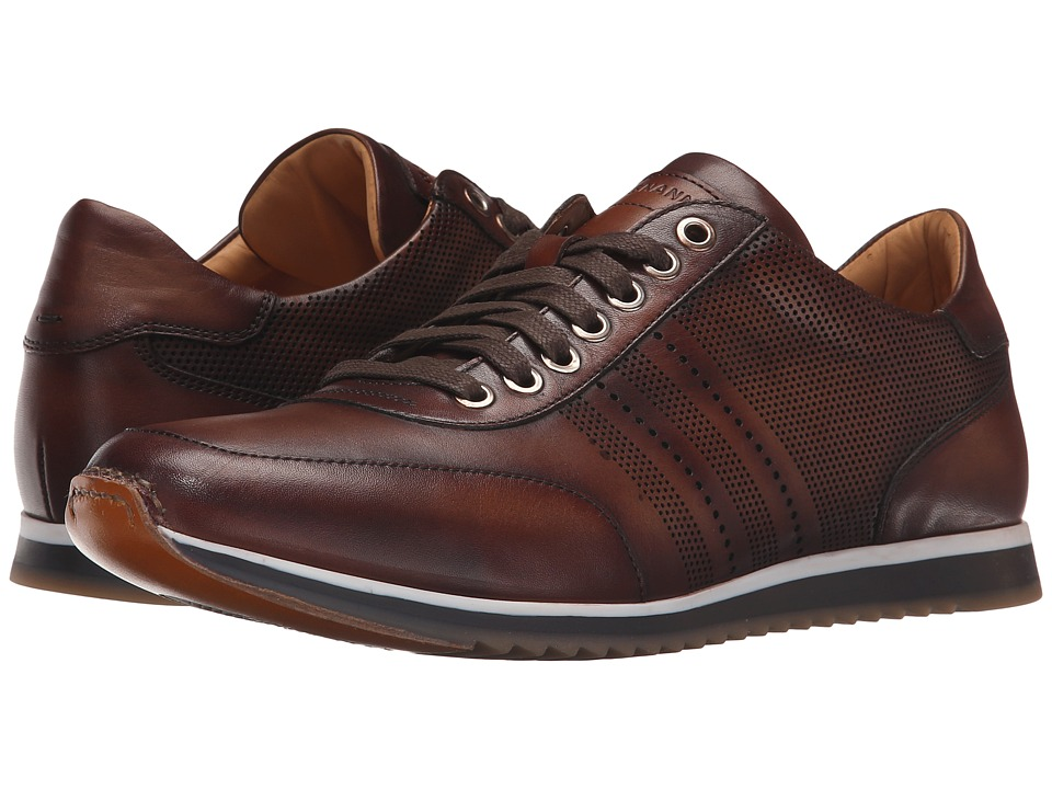 Magnanni - Tristian (Mid Brown) Men's Lace up casual Shoes