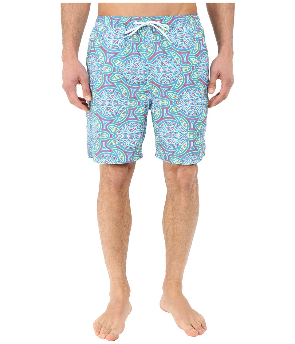 Vineyard Vines - Sea of Turtles Bungalow Shorts (Harbor Cay) Men's Swimwear