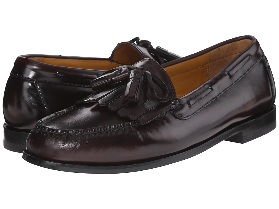 Cole Haan - Pinch Shawl Bow II (Burgundy) Men's Shoes