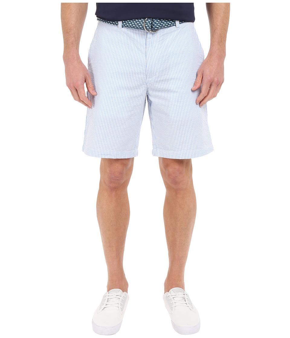 Vineyard Vines - Seersucker 9 Breaker Shorts (Hydrangea) Men's Shorts