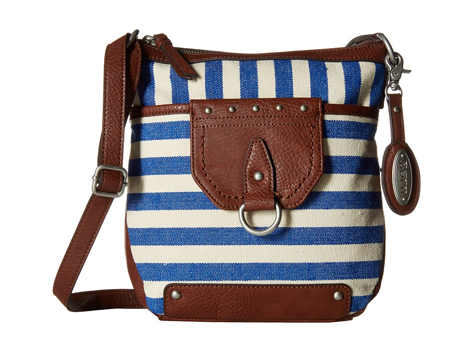 Born - San Clemente Crossbody (Marine) Cross Body Handbags
