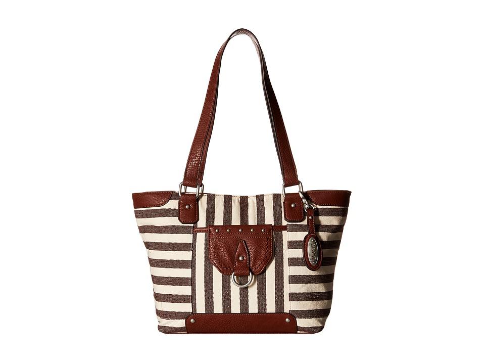 Born - San Clemente Tote (Walnut) Tote Handbags