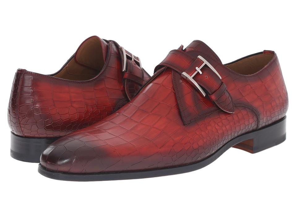 Magnanni - Mateen (Red) Men's Monkstrap Shoes