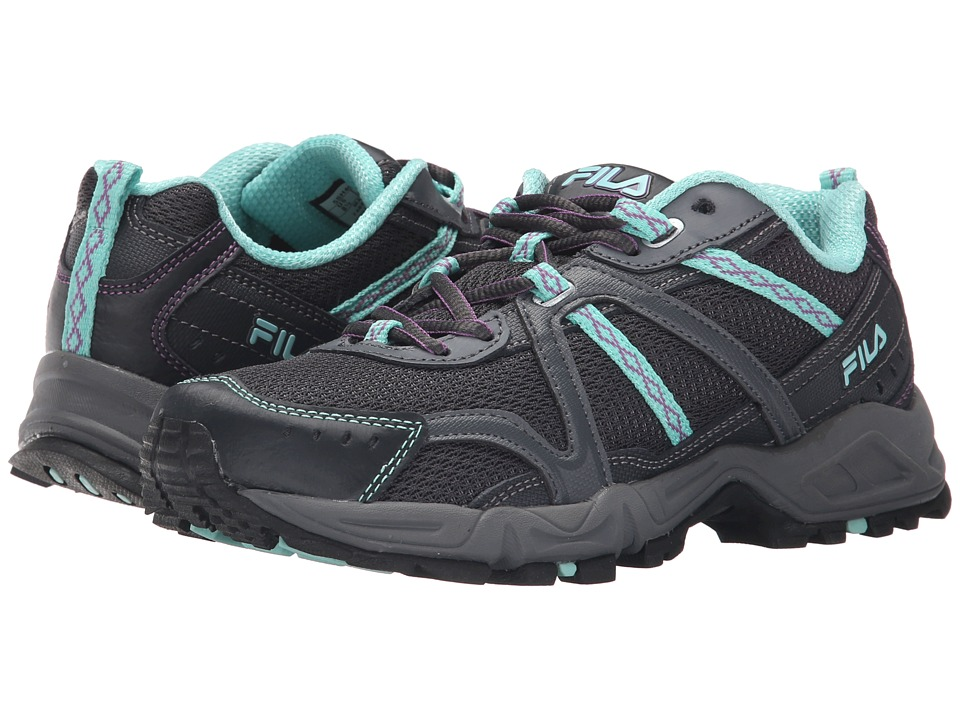 Fila - Ascent 12 (Dark Shadow/Pewter/Aruba Blue) Women