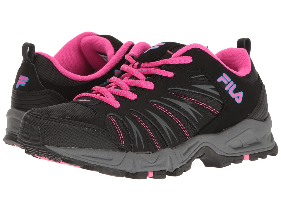 Fila - Trailbuster 2 (Black/Atomic Blue/Pink Glo) Women's Shoes