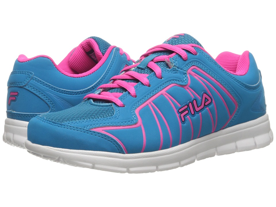 Fila - Escalight (Atomic Blue/Pink Glo/White) Women's Shoes