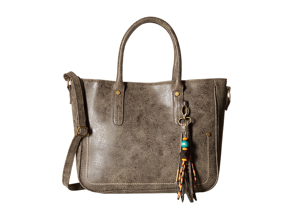 Gabriella Rocha - Isla Tote with Tassel (Brown) Tote Handbags