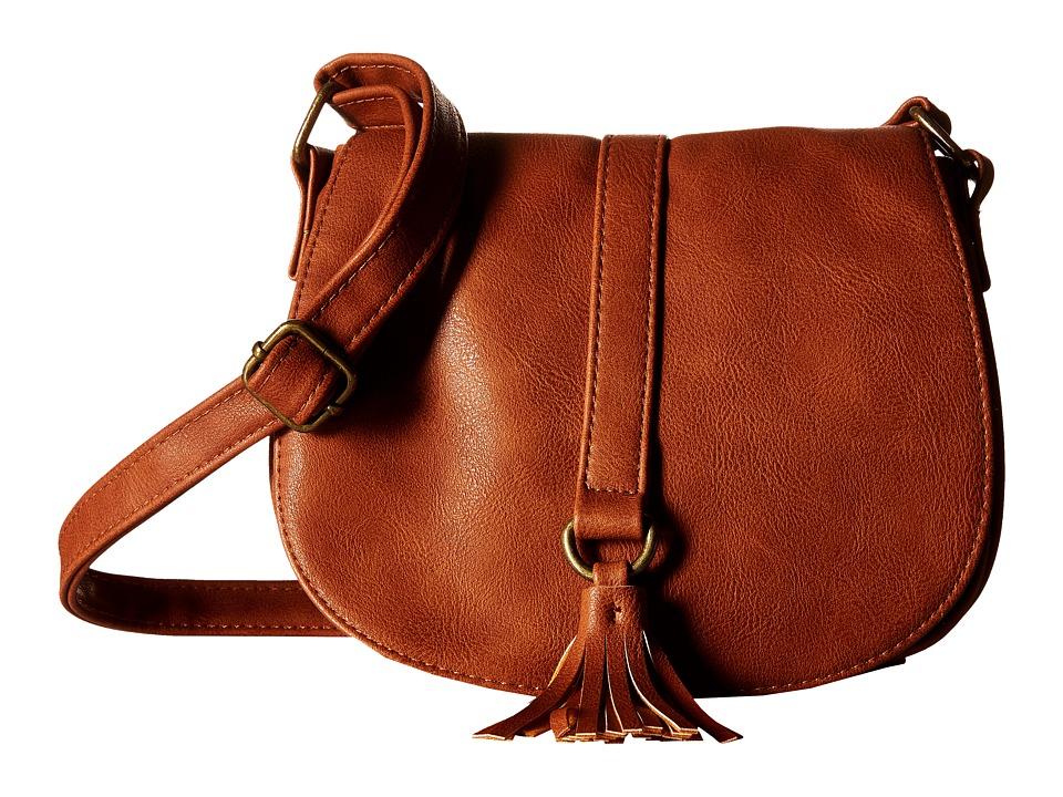 Gabriella Rocha - Darena Crossbody with Tassel (Cognac) Cross Body Handbags