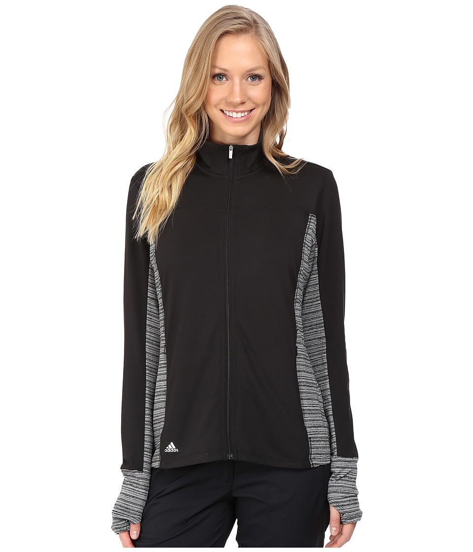 adidas Golf - Rangewear Full Zip (Black) Women's Clothing