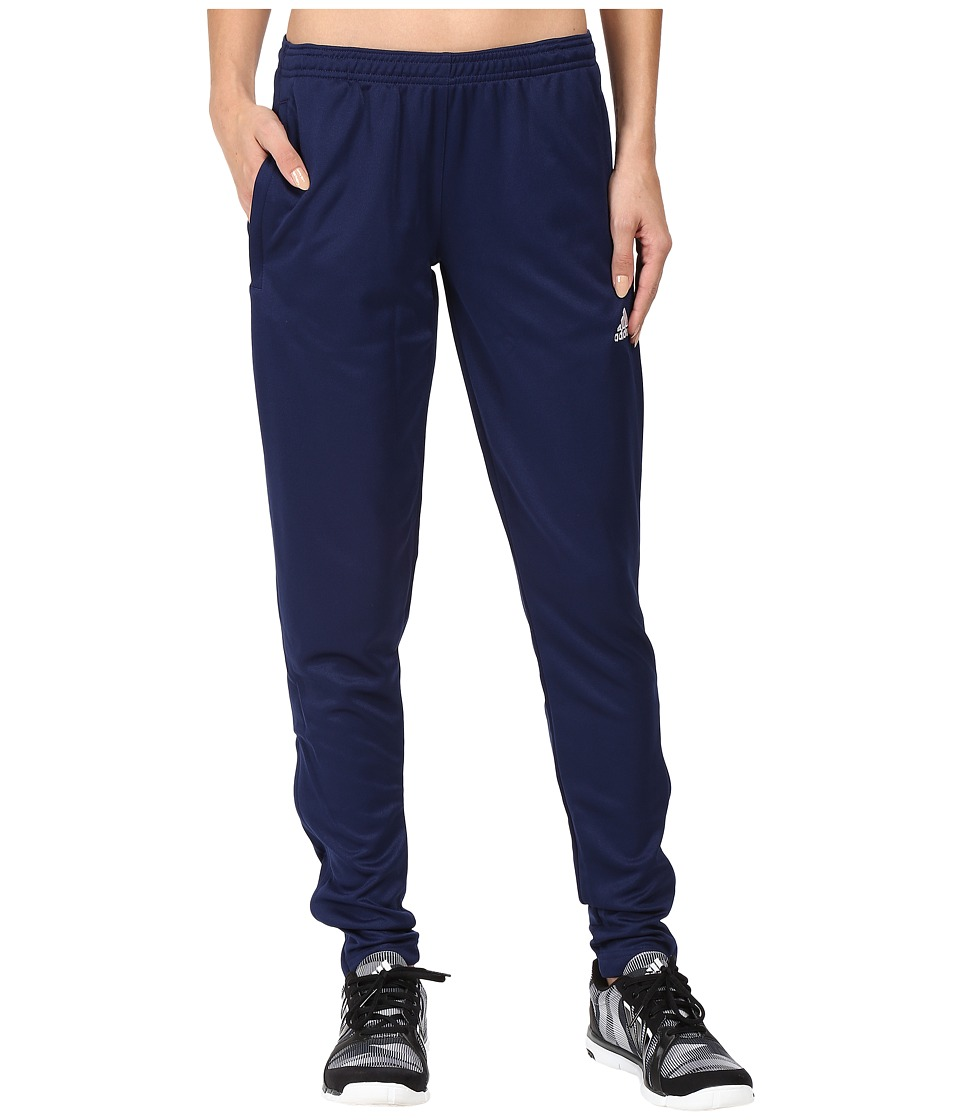 adidas - Core 15 Training Pants (Dark Blue/White) Women