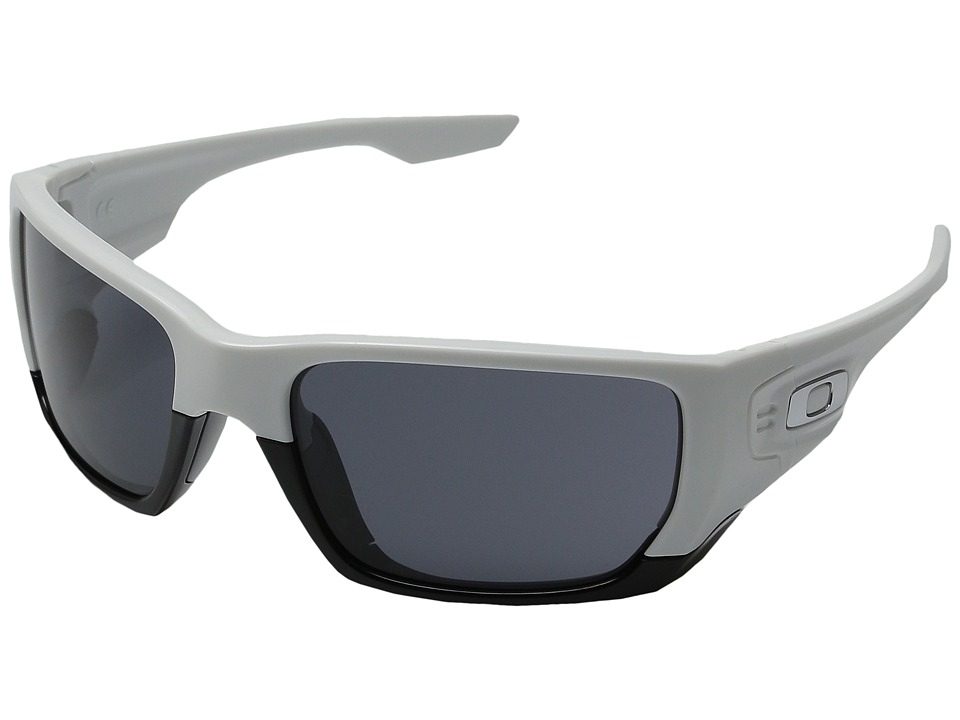 Oakley - Style Switch (Polished White/Black) Plastic Frame Sport Sunglasses