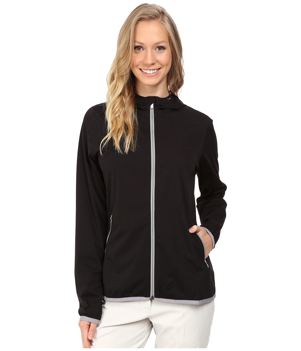 adidas Golf - CLIMASTORM Jacket (Black) Women's Coat