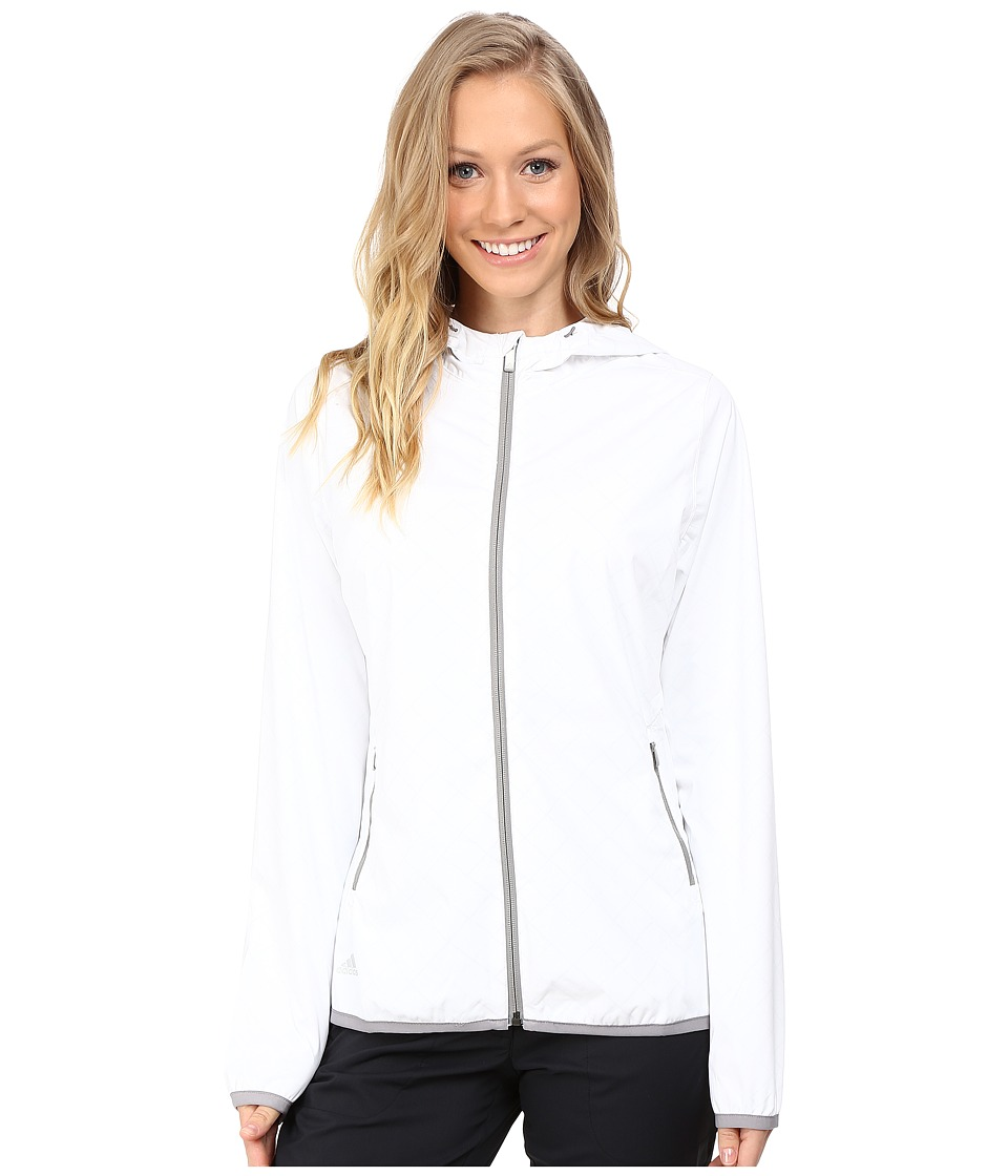 adidas Golf - CLIMASTORM Jacket (White) Women's Coat