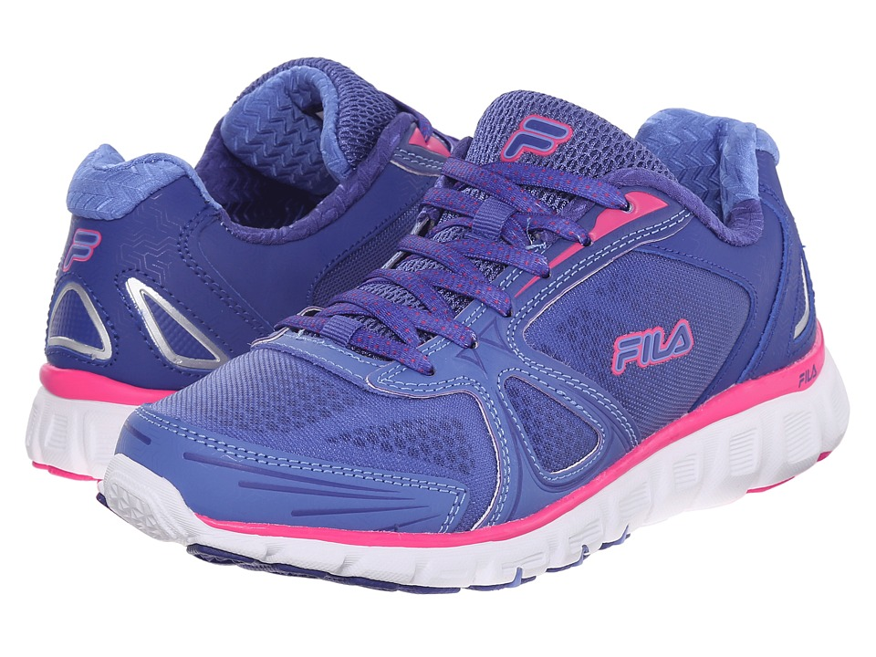 Fila - Memory Solidarity (Roal Blue/Wedgewood/Pink Glo) Women's Shoes