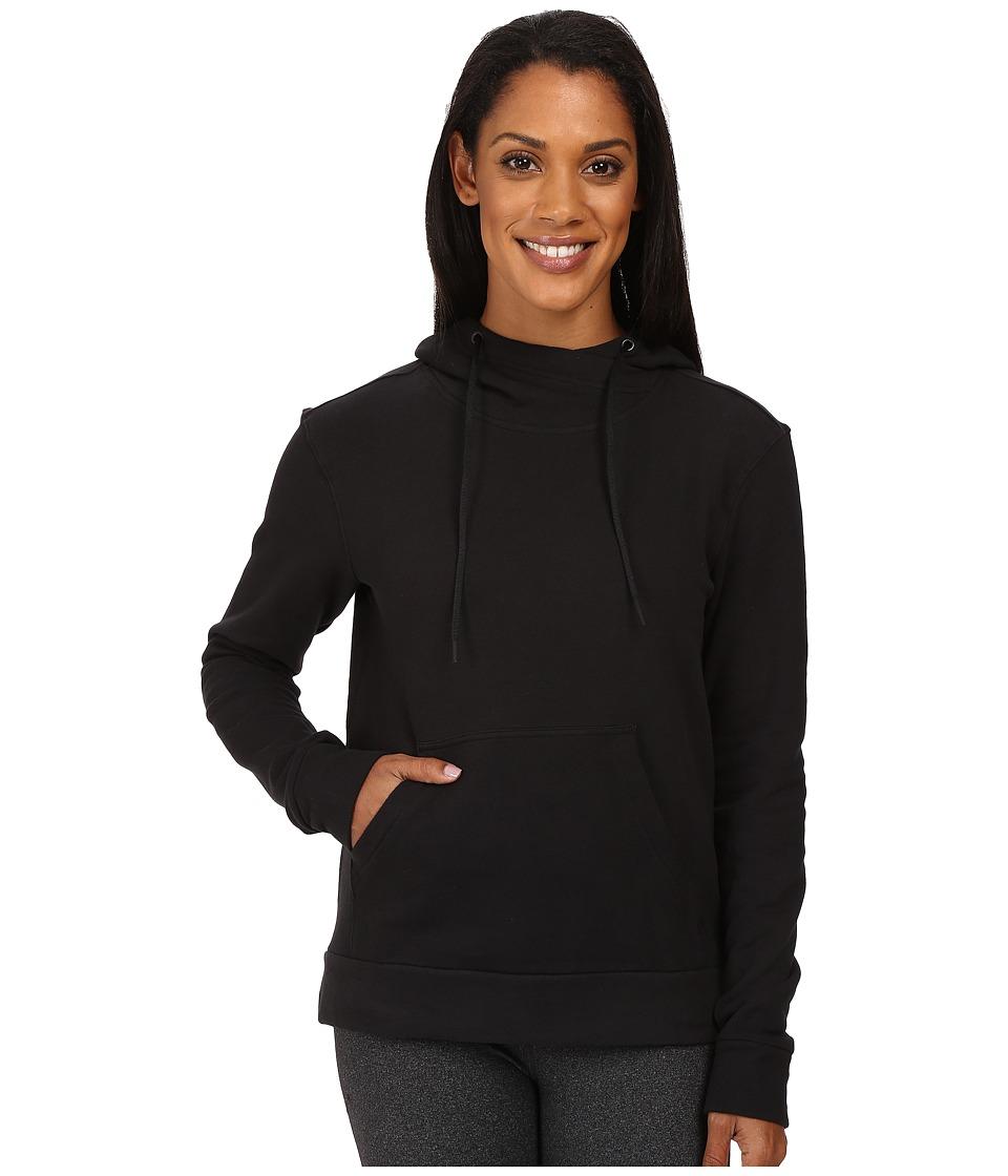 adidas - 247365 Pullover Hoodie (Black) Women's Sweatshirt