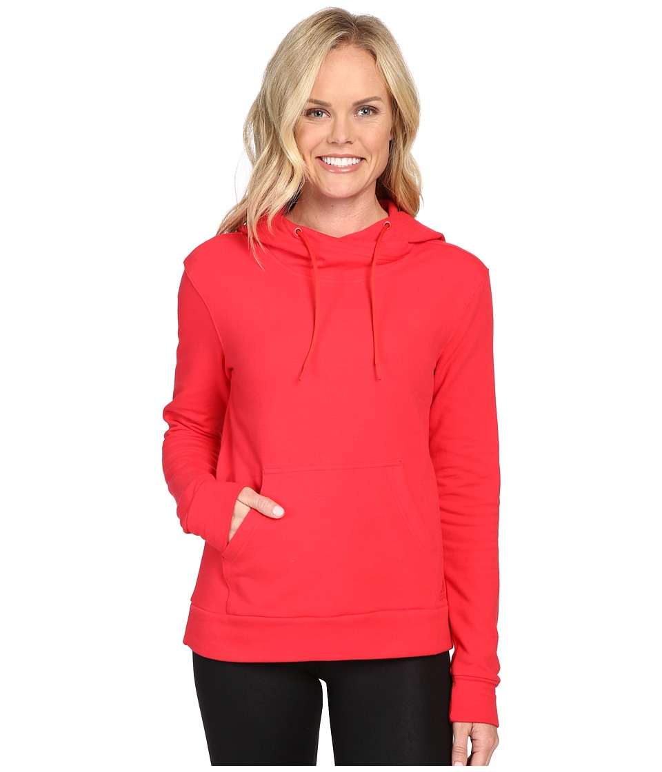adidas 247365 Pullover Hoodie (Ray Red) Women