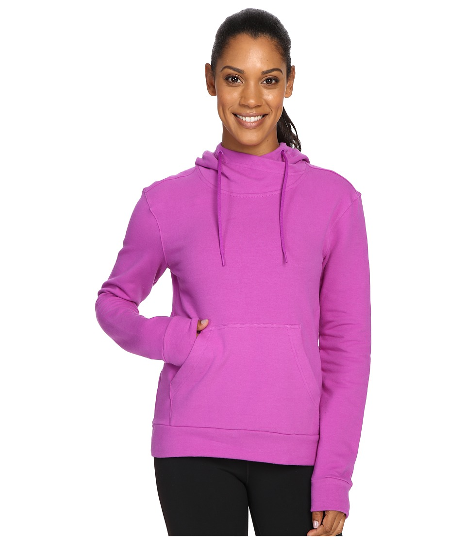 adidas 247365 Pullover Hoodie (Shock Purple) Women