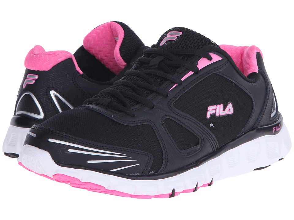 Fila - Memory Solidarity (Black/Sugarplum/White) Women's Shoes