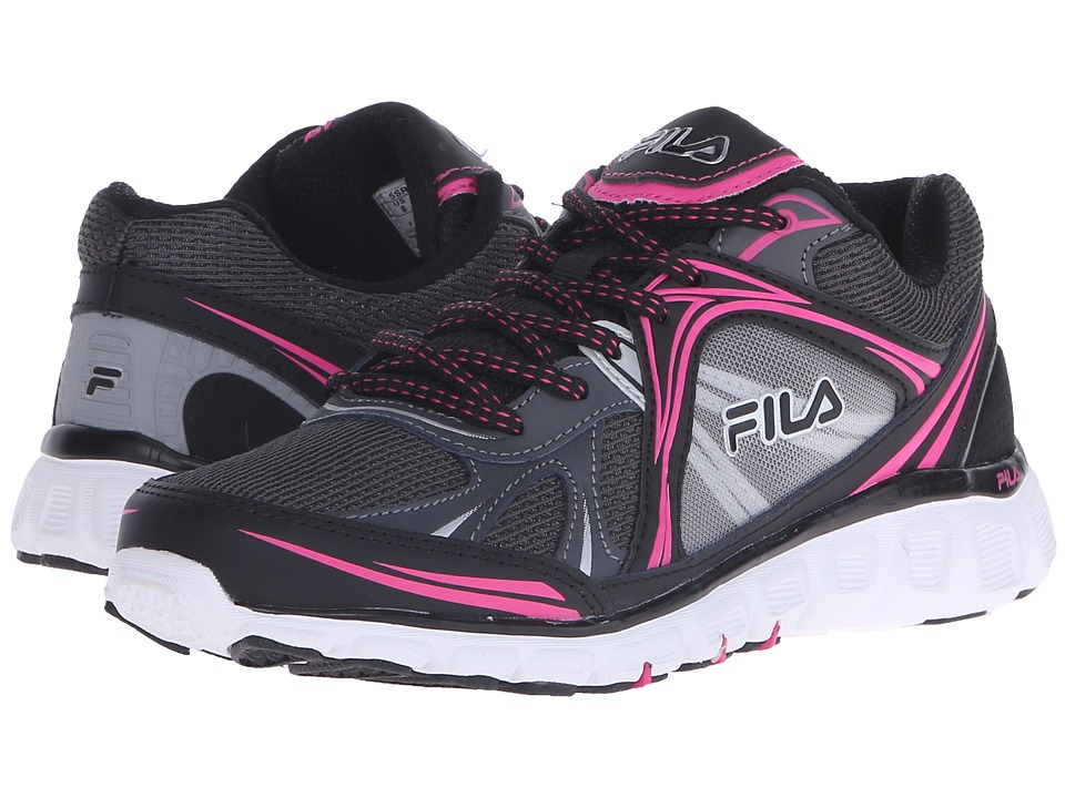 Fila - Memory Retribution (Black/Dark Shadow/Pink Glo) Women's Shoes