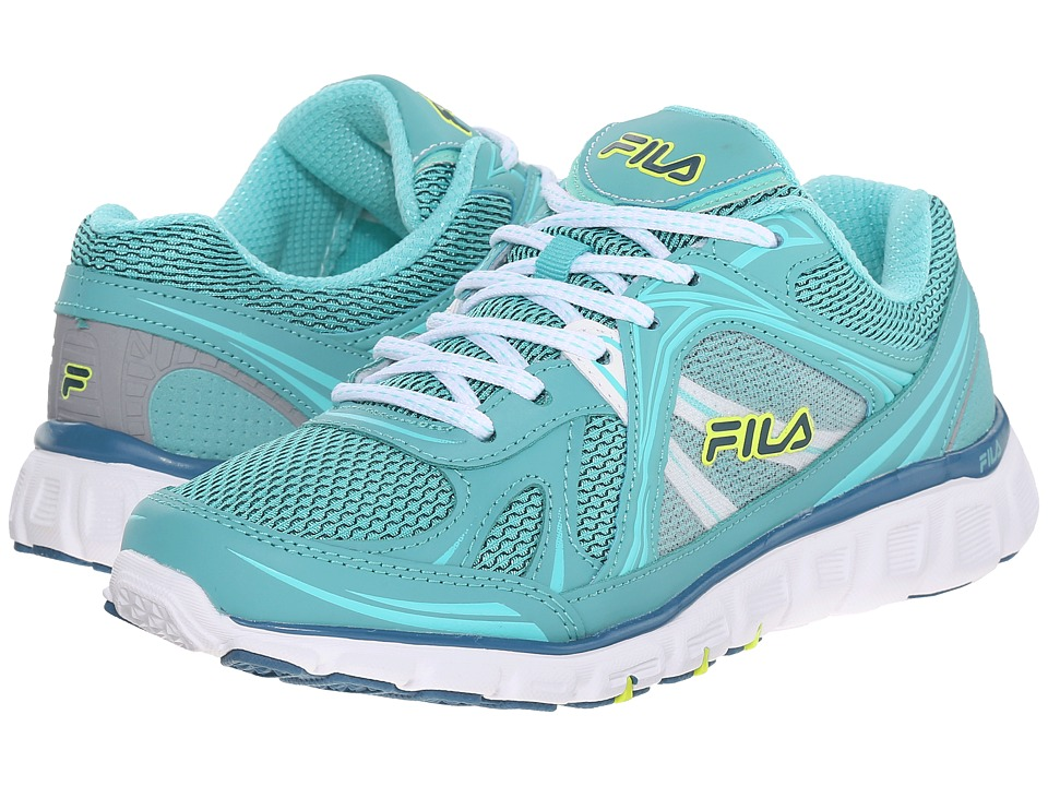 Fila - Memory Retribution (Lagoon/Cockatoo/Safety Yellow) Women's Shoes