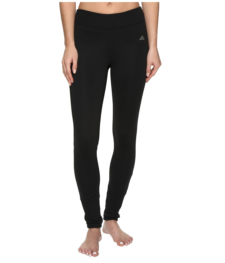 adidas Golf - CLIMAWARM Leggings (Black) Women's Casual Pants